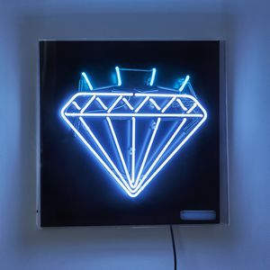 Diamond Neon Light Sign