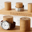 Personalised Oak Watch Stand For Three To Five Watches
