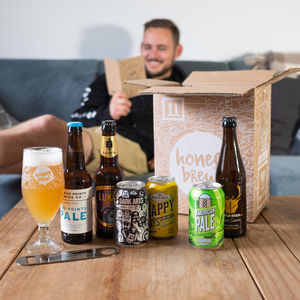 Father's Day 12 Craft Beers, Card, Glass And Bar Blade - wines, beers & spirits