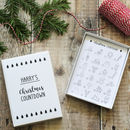Christmas Countdown Advent Colouring Box