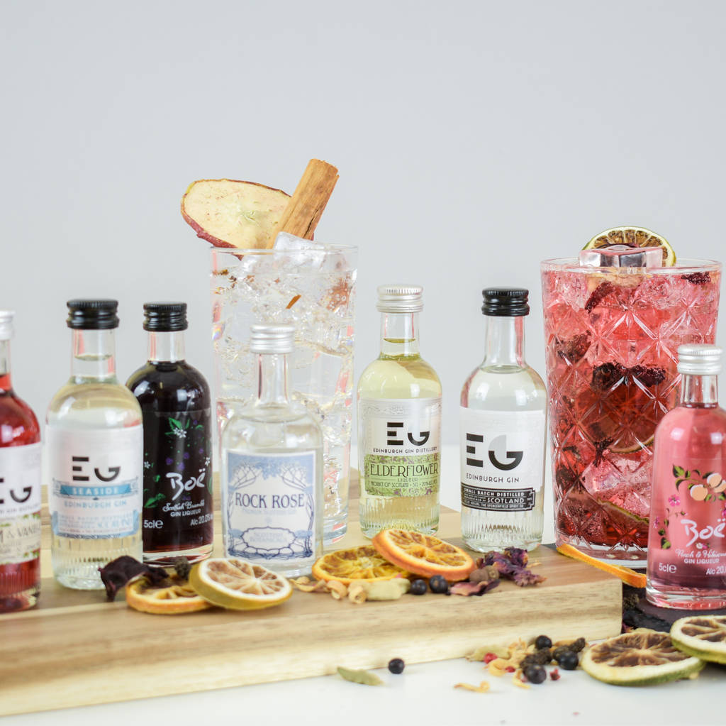 Classic Scottish Gin Tasting Set