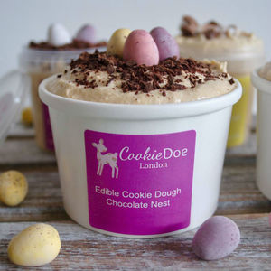Easter Chocolate Nest Cookie Dough Tub