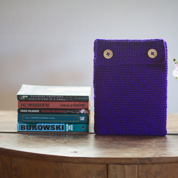 Electric Purple iPad Case
