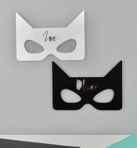 Personalised Door Plaque Or Sign Monochrome Superhero