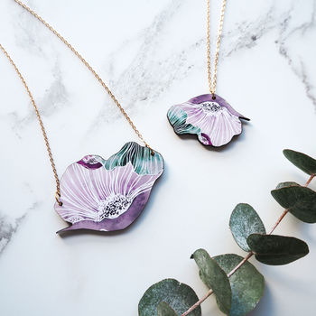 Botanical Flower Necklace