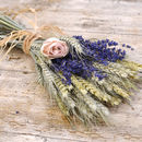Rose And Lavender Wheat Posy