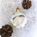 Garden Bird Christmas Bauble