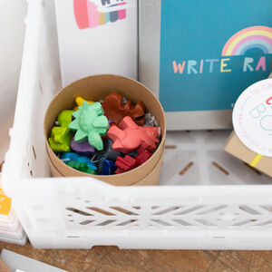 Themed Crayon Play Tub