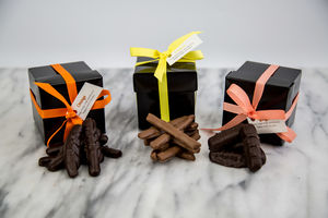 Lemon, Ginger And Orange Chocolate Boxes