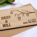 Lanterns Save The Date Magnet