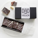 Super Realistic Chocolate Millionaire's Slices For Dad