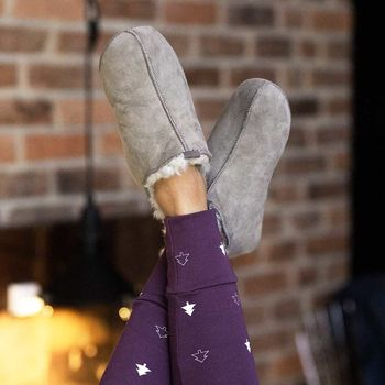 The Female Pixie Grey Slipper Boot