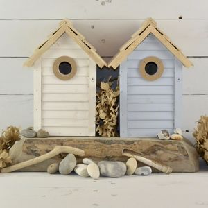 Wooden Pastel Bird House - 60th birthday gifts