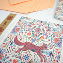 Letter Writing Set Meadow Fox