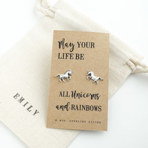Unicorn Earrings - unicorns