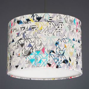 Kitty Mc Call Bauhaus Fabric Lampshade