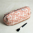 Bella Make Up Bag In Speckle Stencil Print