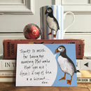 Puffin Note Cards