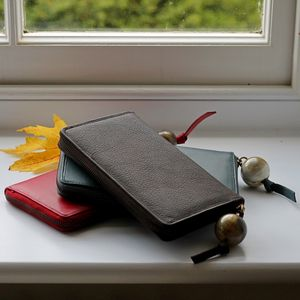 Ladies Long Leather Wallet - shop by recipient