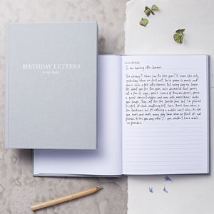 Birthday Letters To My Baby - notebooks & journals