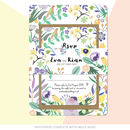 True Love Wedding Invitation with Belly Band
