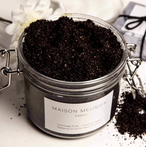 Radiance Coffee Scrub All Natural And Vegan - brand new partners