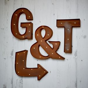 Carnival Wall Lights A To Z And Symbols - shop by price