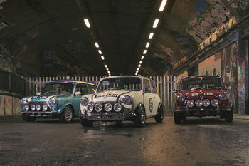 Discover London's Street Art By Classic Mini Cooper