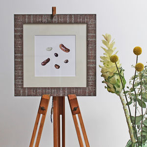Mixed Beans Botanical Art Print