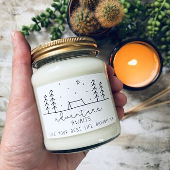 Adventure Awaits Scented Soy Candle
