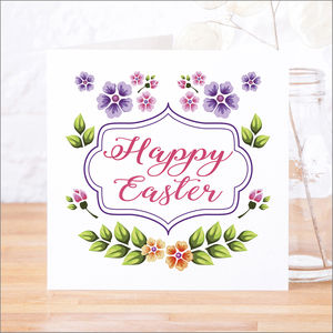 Single Or Pack Of Happy Easter Cards