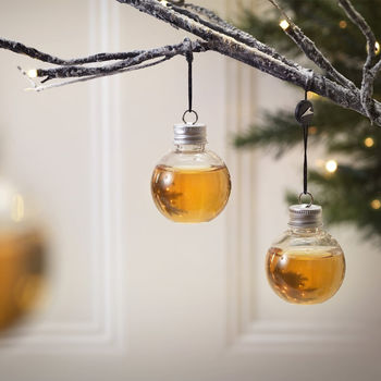 Gift Set Of Six Whisky Baubles