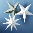 Paper Star Hanging Decoration