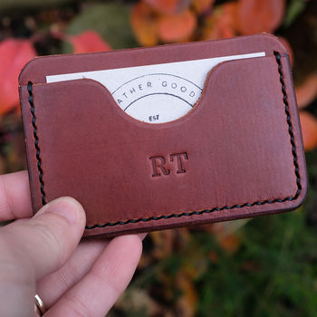 Italian Leather Card Holder