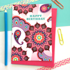 Contemporary Birthday Card