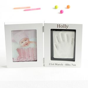 Personalised Baby Imprint Kit And Photo Frame - pictures & prints for children