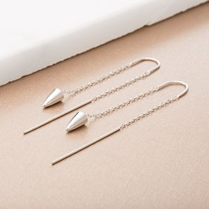 Dagger Threader Drop Earrings - threader earrings