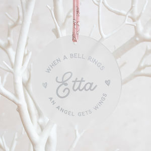 When A Bell Rings Memorial Keepsake Decoration - new in baby & child