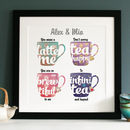 Personalised Tea And Coffee Art
