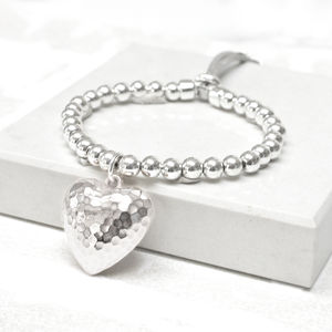 Statement Heart Friendship Bracelet - summer sale