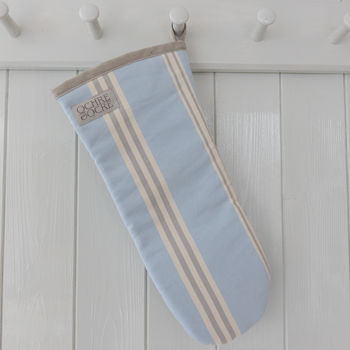 Eastnor Blue Grey Oven Mitt