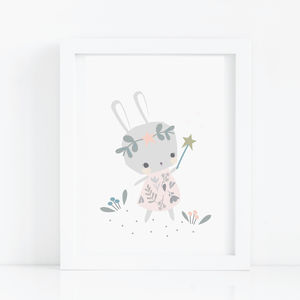 Bunny And The Magical Wand - pictures & prints for children