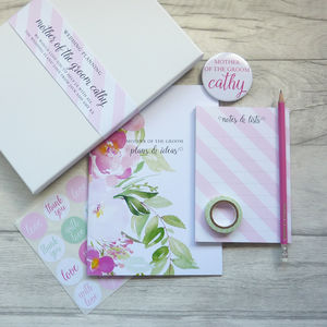 Mother Of The Groom Wedding Planning Stationery Set