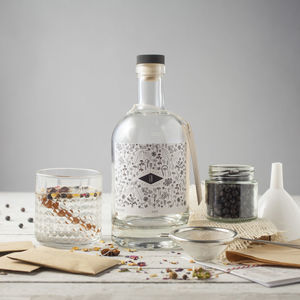 Make Your Own Gin Kit With Three Botanical Blends - gifts for him