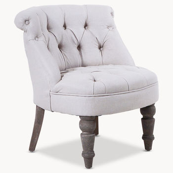 St James Cream Scoop Chair