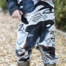 Killer Whale Print Children's All In One by Milly O