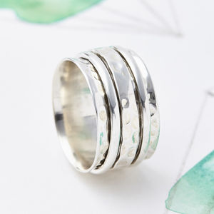 Karma Abundance Spinning Ring - rings