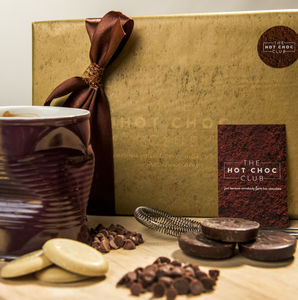 Variety Hot Chocolate Gift Box - teas, coffees & infusions