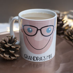 Personalised Grandad Gift Mug - tableware