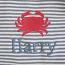 Personalised Nautical Print Pyjamas